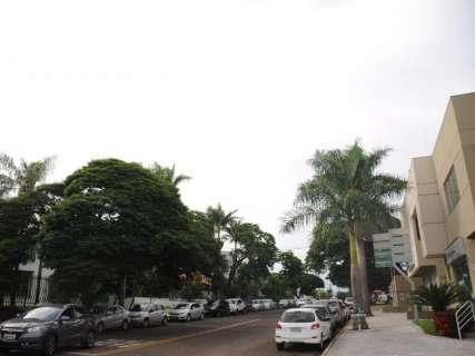 Inmet alerta para chuva forte em Campo Grande e outros 72 municípios