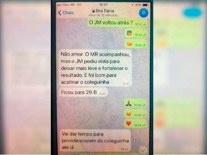 Ação de R$ 3 milhões liga Tânia Borges a suspeita de venda de sentença
