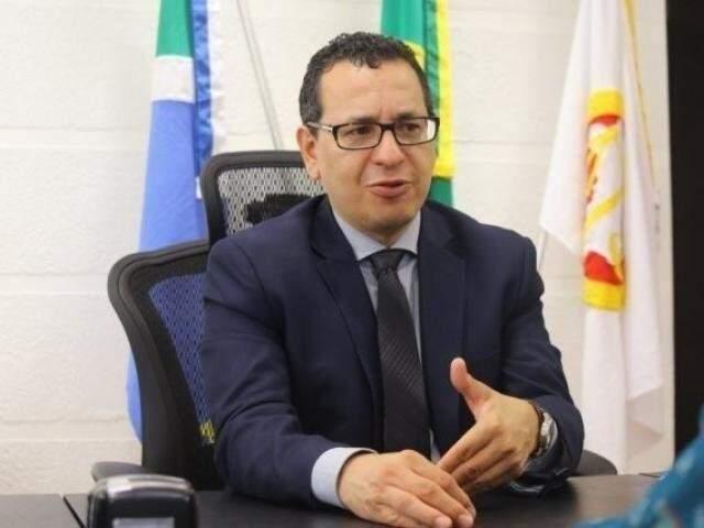 """Paulo Passos, chefe do MPMS, classifica a decisão do STF de """"lástima"""". (Foto: Arquivo)"""