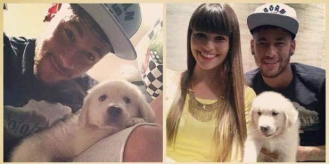 Amanda e Neymar em Barcelona. (Reprodução Instagram)