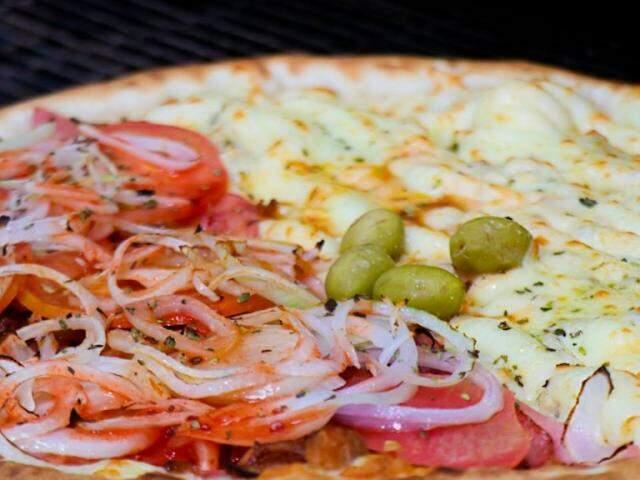 Pizzaria tem variedade de sabores no Bairro Buriti.