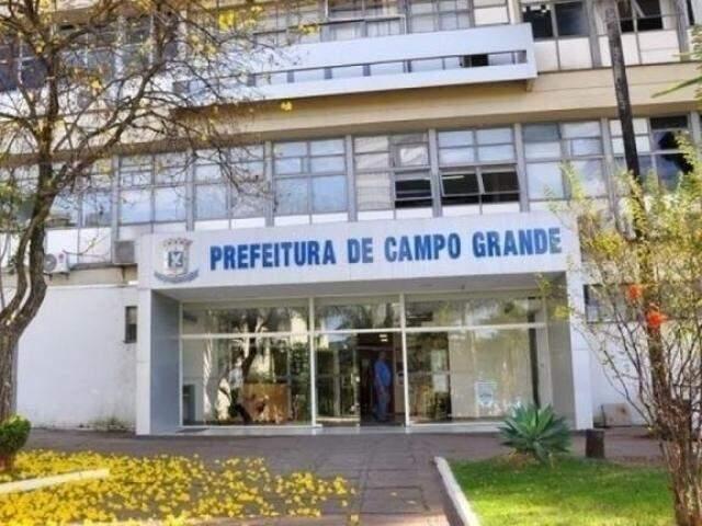 Fachada da prefeitura de Campo Grande (Foto: Arquivo/Campo Grande News)