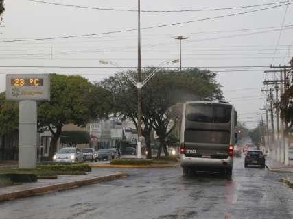 Agenda de Reinaldo para lançamento de obras é cancelada devido à chuva