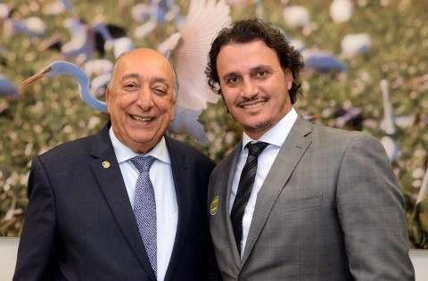 Marcos Derzi, indicado pela bancada de MS, assume o comando da Sudeco