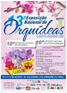Cidade terá eventos com orquídeas em destaque e cursos gratuitos de cultivo