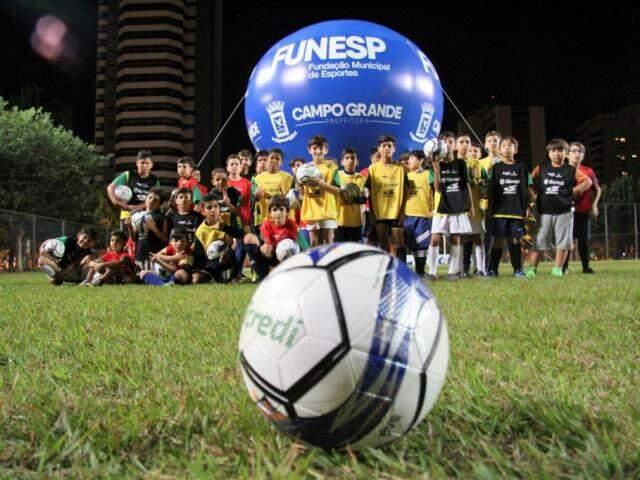 Belmar Fidalgo também recebe projeto realizado pela Fundação Municipal de Esportes (Foto: PMCG/Divulgação)