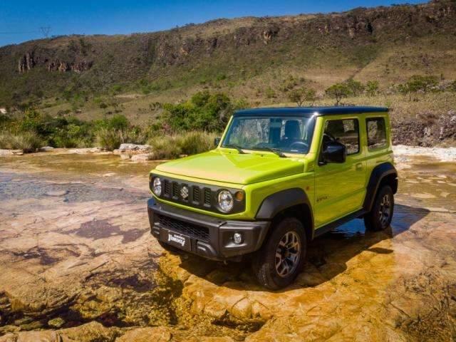 Suzuki Jimny Sierra começa a ser vendido no Brasil