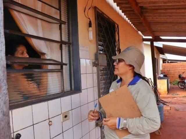 Mutirão na região das Moreninhas, em Campo Grande (Foto/Arquivo: Henrique Kawaminami)