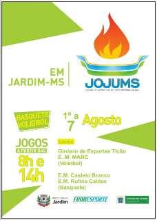 Jardim abre Jogos da Juventude hoje à noite com equipes de 25 municípios
