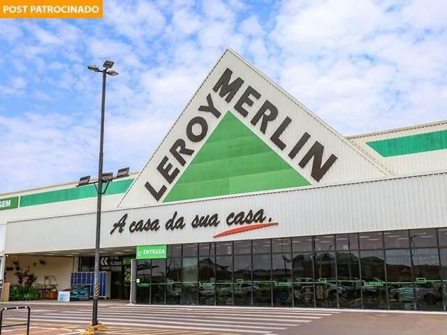Fim de semana é de ofertas, motociclismo e workshops na Leroy Merlin. (Foto: henrique Kawaminami)