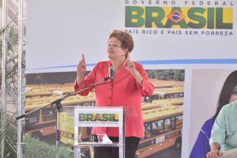 """Dilma anuncia para prefeitos o programa """"Estrada Vicinal"""""""