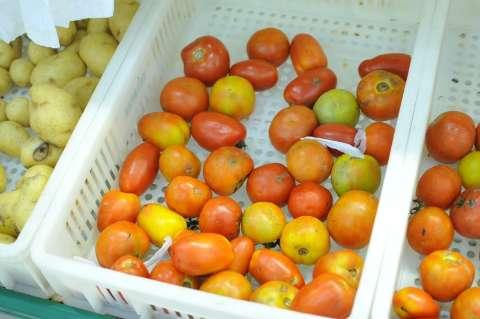 Preço do tomate dobra de um dia pro outro com protesto de caminhoneiros