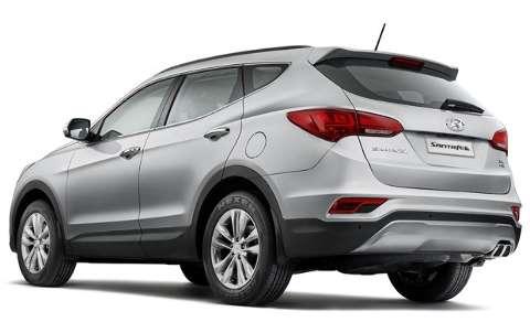 Hyundai apresenta o Santa Fé renovado