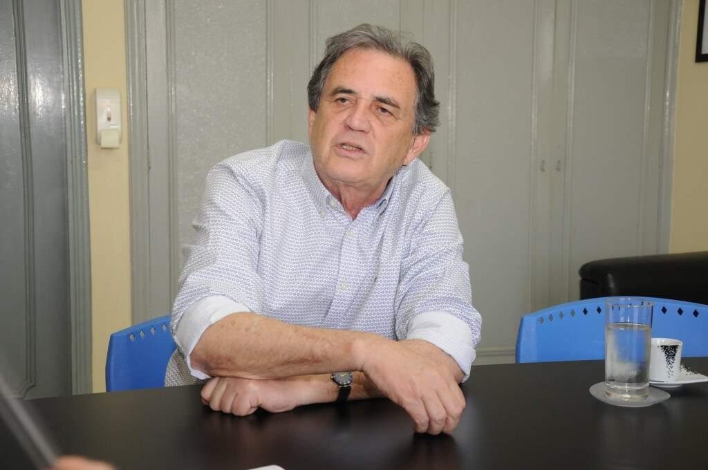 Candidato à reeleição, Moka defende o fortalecimento do MP, mas com limites. (Foto: Paulo Francis)