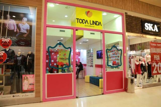 Segunda unidade do salão fica no Shopping Norte Sul Plaza. (Foto: Alcides Neto)