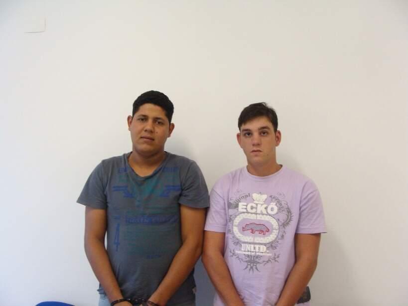 Paulo Henrique Borak, 23 anos, e Luiz Eduardo Rojas Lemos, 21 anos. (Divulgação)