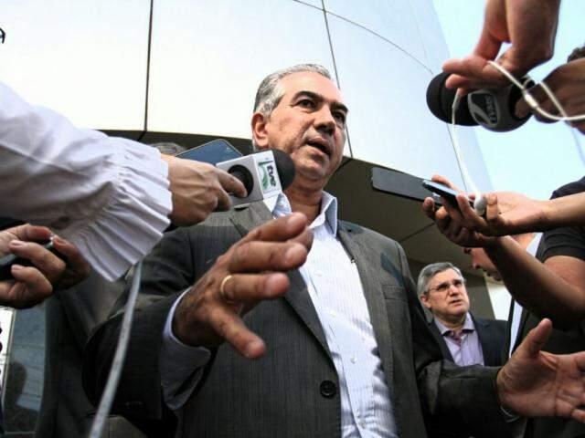 Governador do Estado, Reinaldo Azambuja, PSDB. (Foto: Saul Schramm).