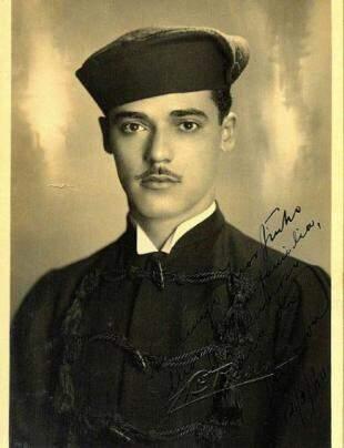 Formatura Wilson Barbosa Martins, em Direito, em São Paulo, no ano de 1939.