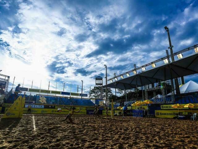 Jogo da etapa que passou por Campo Grande no fim do ano passado (Foto: CBV/Divulgação)