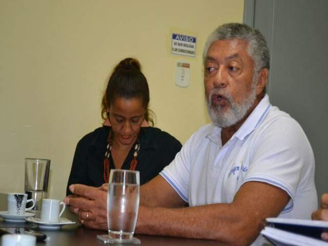 Alair Fernando, um dos fundadores do grupo (Foto: Taynara Menezes)