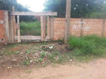 Terreno baldio causa transtornos para moradores no Jardim das Meninas
