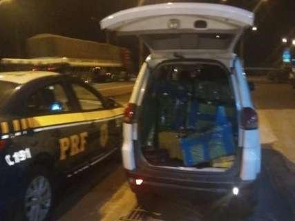 Homem é preso transportando mais de 1 tonelada de maconha em Pajero