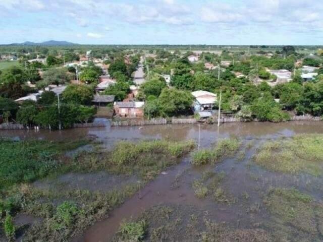 Em Mato Grosso do Sul 20 municípios estão em situação de emergência e entre eles está Porto Murtinho (Foto: Toninho Ruiz/Arquivo)