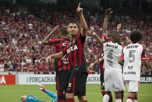 Flamengo e Atlético Paranaense voltam a se enfrentar hoje à noite pela Taça Libertadores (Foto: Flamengo/Divulgação)