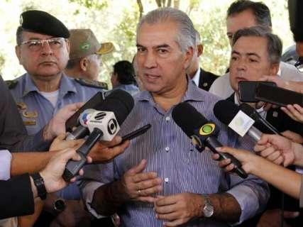 Reinaldo espera firmar novo convênio de segurança com Moro até julho