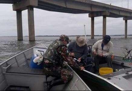 Fiscalização em rios será redobrada em feriado que antecede piracema