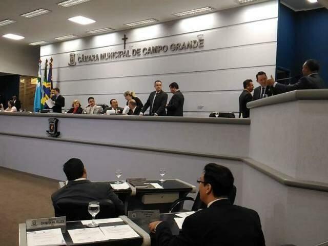 Houve unanimidade entre os vereadores durante a votação das propostas de reajuste (Foto: Kleber Clajus)