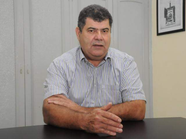 Jaime Teixeira é presidente da Fetems e pré-candidato para deputado federal (Foto: Paulo Francis)
