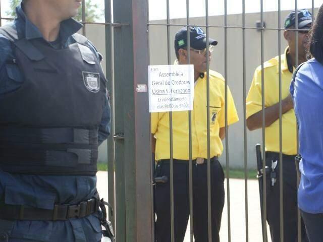 Assembleia da São Fernando foi suspensa ontem e continua em abril (Foto: Helio de Freitas)