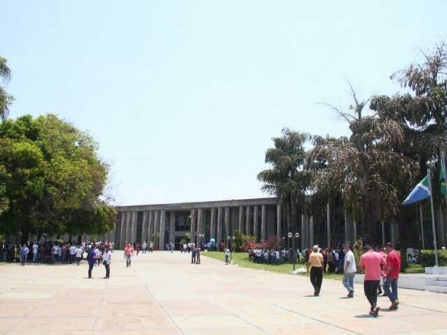 Assembleia Legislativa de MS. (Foto: Marcos Ermínio).