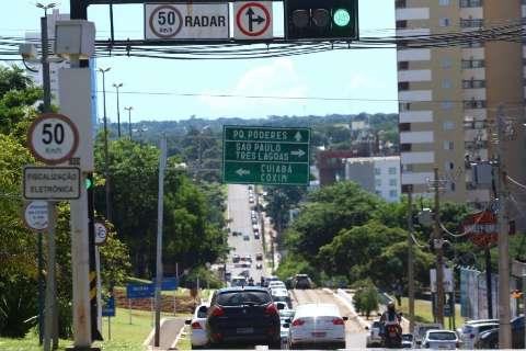 Sem radar há um ano, receita com multas cai 64% em Campo Grande