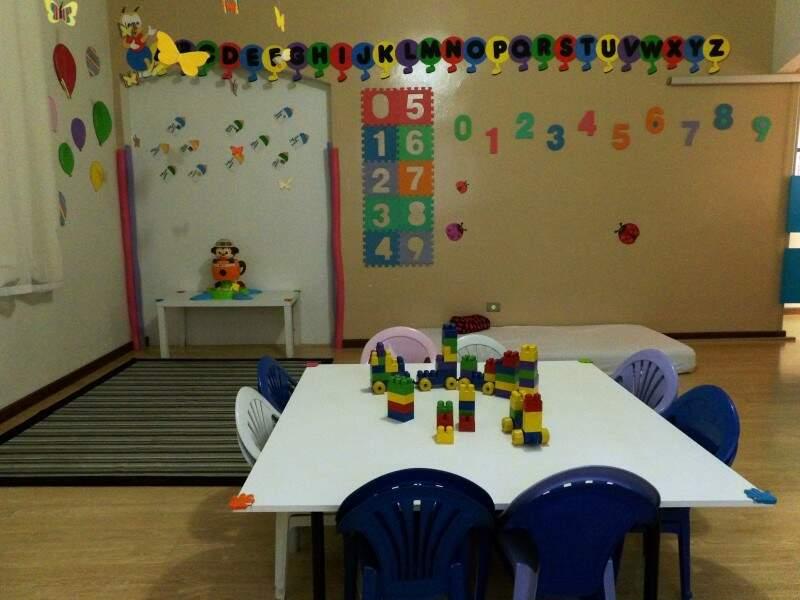 Espaço oferece toda estrutura necessária para receber educar e receber as crianças com conforto. Foto Divulgação
