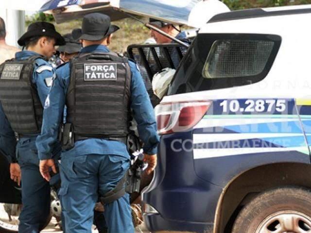 Laudenir da Silva Penaz foi preso nas proximidades da Bolívia (Foto: Anderson Gallo/ Diário Corumbaense)