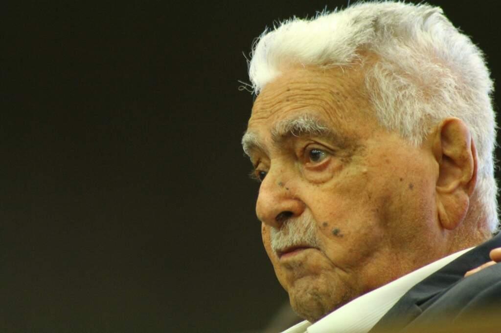 """Pedrossian foi governador por três vezes. """"Fui apaixonado pelo que fiz"""". (Foto: Marcos Ermínio)"""