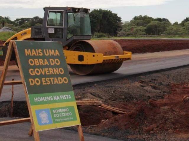 Canteiros de obras foram paralisados em virtude da greve dos caminhoneiros. (Foto: Chico Ribeiro/Segov)