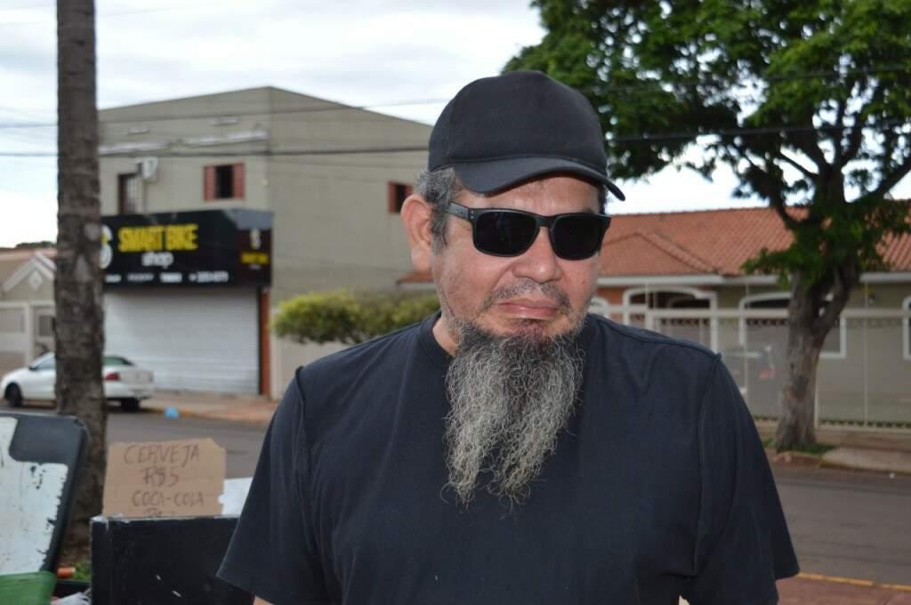 Cristiano Nakazato mora no bairro há um ano e fala sobre a importância do evento para os moradores