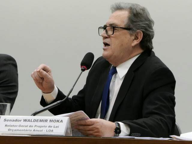 Moka foi o relator do orçamento da União para 2019, sua última missão antes de encerrar sequência de oito mandatos. (Foto: Roque de Sá/Agência Senado)