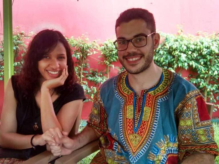 Hadassa e Murilo planejam se casar em agosto do próximo ano (Foto: Arquivo Pessoal)