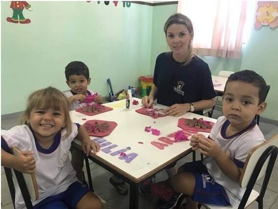 Aula de Artes – Prof.ª Bruna - Foto Divulgação