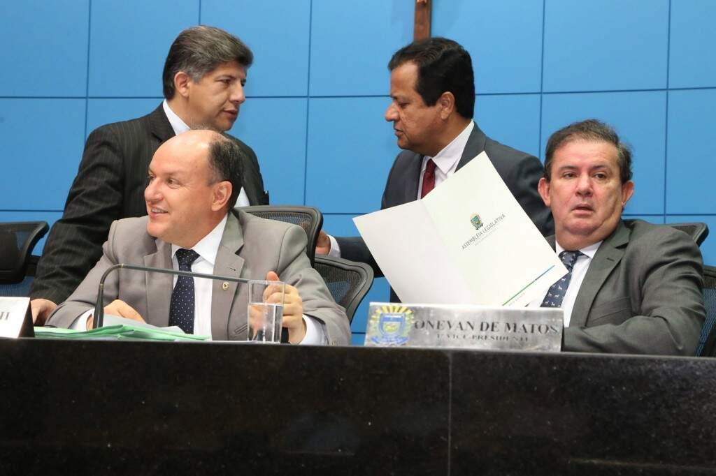 Deputados aguardam comunicado oficial, para iniciar escolha de novo conselheiro (Foto: Victor Chileno/ALMS)