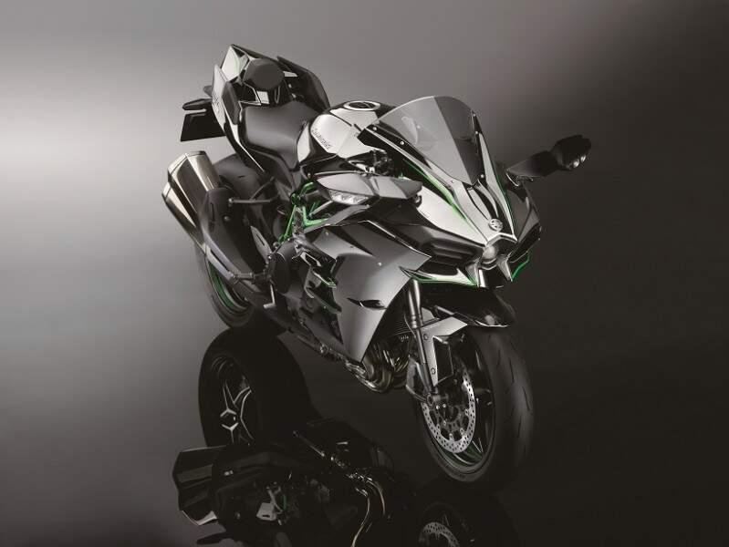 Kawasaki apresenta a Ninja H2