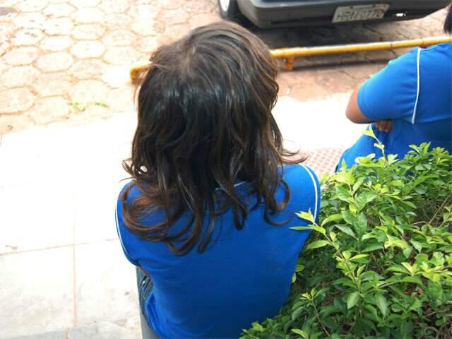 Mãe de adolescente disse que fez denúncia e polícia dizia que não poderia fazer nada. (Foto: Simão Nogueira).