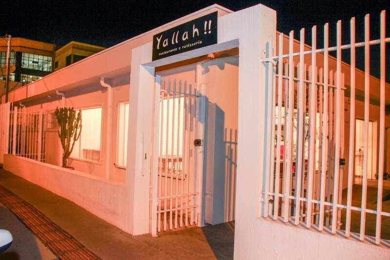 O Yallah!! fica na rua Osvaldo Cruz 50, quase esquina com a Euclides da Cunha. Funciona das 10h às 22h, de terça a domingo. (Foto: Fernando Antunes)