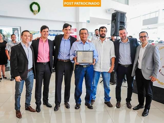 Prêmio foi entregue na última quarta-feira em Campo Grande.