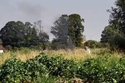 Flagrante aconteceu no bairro Santo Antônio (Foto: Reprodução vídeo)