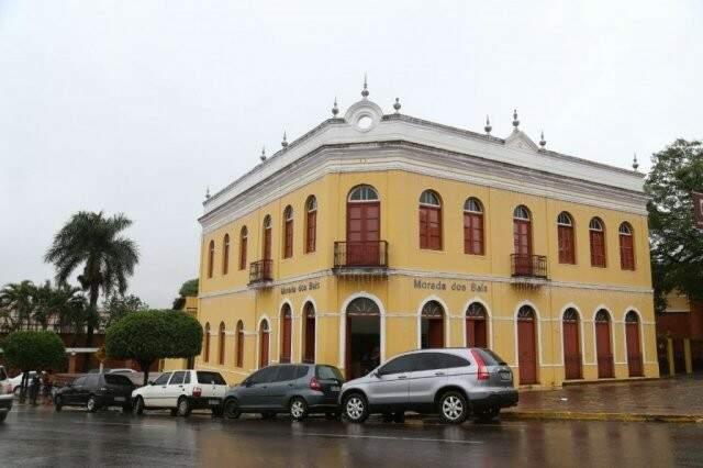 Dentro do Amambaí, a Morada dos Baís é patrimônio cultural da Capital (Foto: Alana Portela)